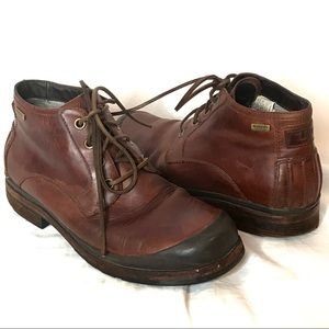 Ugg Men's Leather Waterproof Lace Up Work Boots 10